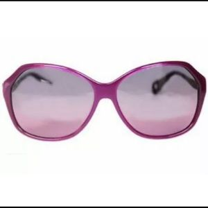 Betsey Johnson vintage Sunglasses Square Purple